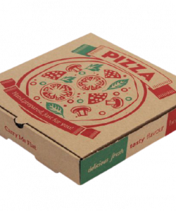 Brown Mailer Pizza Boxes