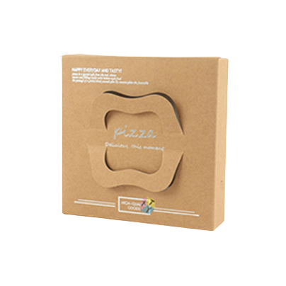 Brown Pizza Box Packaging