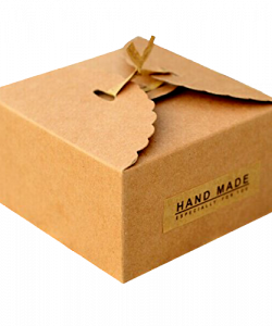 Custom Brown Bakery Boxes Packaging