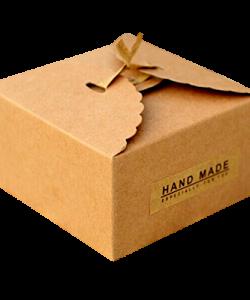 Custom Brown Bakery Boxes Packaging