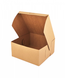 Custom Brown Bakery Packaging Box