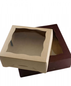 Custom Brown Bakery Packaging Boxes