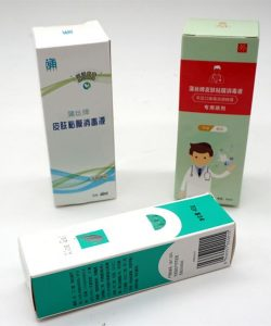 Custom Printed Sanitizer Packaging Box