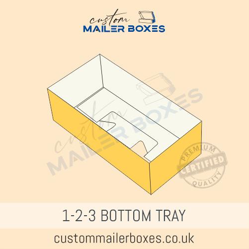 1 2 3 bottom tray
